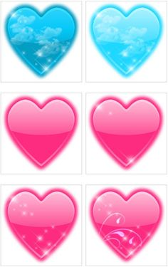 heart glitter graphics - Google Search
