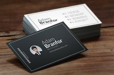 Simple Idea Business Card by Create Art on @creativemarket