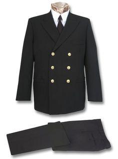 Navy Male Service Dress Blue Uniform