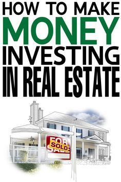 How to Make Money Investing in Real Estate & and see a real long term financial return! How to Make Money Investing in Real Estate & and see a real long term financial return! Real Estate Career, Real Estate Business, Real Estate Investor, Real Estate Tips, Real Estate Marketing, Llc Business, Business Advice, Business Planning, Investment Property