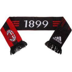AC Milan adidas Scarf - Red/Black - $27.99