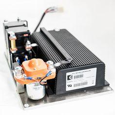 NOCO SHOP - 48V, 60V, 72(80)V CURTIS DC Series motor speed controller assemblage, model 1221M-6701, electric vehicle traction motor control unit.
