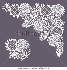 Find Lace Frame Clip Art stock images in HD and millions of other royalty-free stock photos, illustrations and vectors in the Shutterstock collection. Border Embroidery Designs, White Embroidery, Beaded Embroidery, Embroidery Patterns, Nail Art Stencils, Lace Drawing, Lace Painting, Clip Art, Lace Tattoo