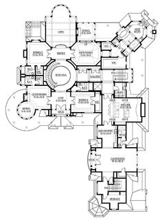 Garage Plans And Blueprints Luxury Home Plansluxury Floor