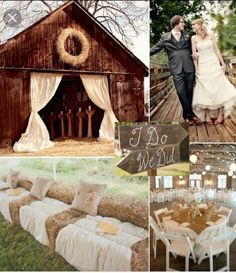 If I had a country wedding I'd like this