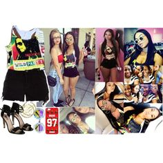 Krush Girlz Store Opening., created by dopegenhope on Polyvore