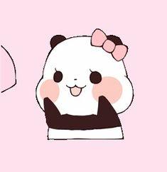 Animated, panda, and wallpapers iphone image Animated Wallpapers For Mobile, Panda Wallpapers, Cute Wallpapers, Animated Gif, Panda Gif, Panda Funny, Panda Bear, Panda Love, Cute Panda