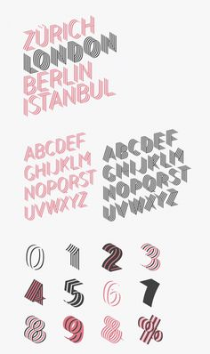 The Bend ribbon type family by Juri Zaech. Juri Zaech has designed the Bend typefaces in 2014. It's a contemporary ribbon type family that consists of 6 fo