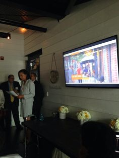 Patricia Washington our president & CEO launching our new website tonight at @blackwallhitch2 #ExtraordinaryALX