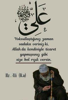 Resimli Dini Sözler - Bilgi Deryası Duaa Islam, Allah Islam, Imam Ali, Pray, Spirituality, Memes, Quotes, Detox Baths, Islamic