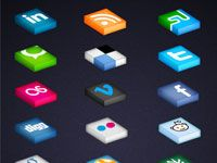 20+ Awesome and Free Social Media Icon Sets for Designers