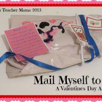 Mail Myself to You Valentine's Activity