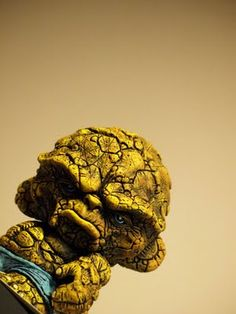 toycutter: Thing Munny (Fantastic Four)