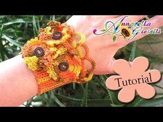 Tutorial Bracciale Gotico all'uncinetto | How to crochet a bracelet