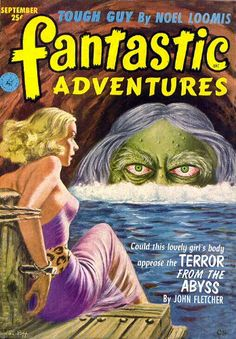 FANTASTIC A4 GLOSSY PRINT - 'FANTASTIC ADVENTURES - TERROR FROM THE ABYSS' (A4 PRINTS - VINTAGE SCI-FI COMIC COVERS) by Unknown http://www.amazon.co.uk/dp/B0044MN1YM/ref=cm_sw_r_pi_dp_8NJnvb0N4PMRY