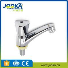 Plastic handle water saving triangle handle basin taps for washing hand