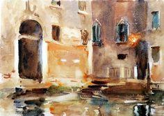 John Singer Sargent (Florencia, 1856 - Londres, 1925) Venecia (c. 1903)