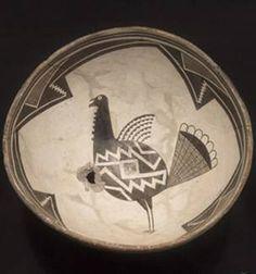 Mimbres bowl, c.1000-1200 (image: Amerind Foundation)