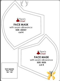 Sewing your own face mask to protect yourself from the coronavirus pandemic (wit... -  Sewing your own face mask to protect yourself from the coronavirus pandemic (with pattern and photo sewing instruction) #diy #facemask #facemaskdiy #facemaskpattern Source by 0t7wf3wz3f9jomp  -<br> Sewing Patterns Free, Free Sewing, Free Pattern, Pattern Sewing, Diy Mask, Diy Face Mask, Face Masks, Neymar, Kids Cuts