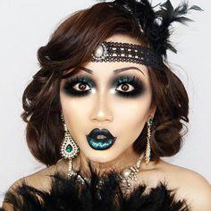 Inspiring halloween makeup ideas to makes you look creepy but cute 47