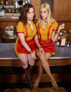 I could go for a little Max and Caroline sandwich. If you're not watching 2 Broke Girls, you should be.