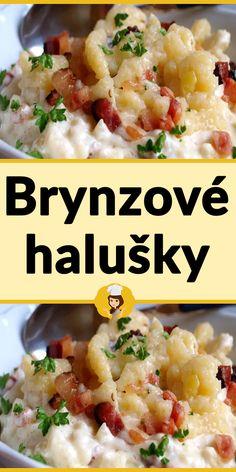 Brynzové halušky Risotto, Vegetables, Ethnic Recipes, Food, Decor, Lasagna, Decoration, Essen, Vegetable Recipes