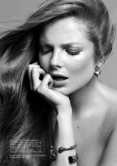 Beauty Wonders: #EnikoMihalik by #BojanaTatarska for #GlassMagazine Fall 2013