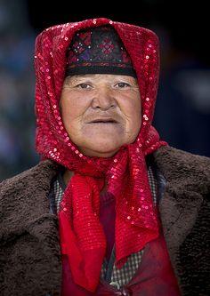 Tajik Woman, Xinjiang, China