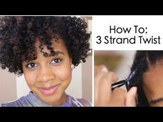 Unconventional Techniques: 3 Strand Twists, 4 Strand Braids and Inverted Cornrows | Black Girl with Long Hair