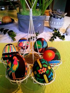 Polish pisanki, Easter eggs