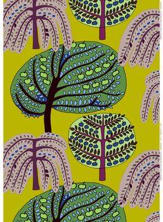 Sadonkorjuu (Harvest) Design Teresa Moorhouse for Marimekko