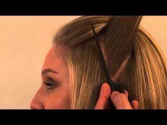 Penteado de noiva - Semi-preso Trançado de Mechas - YouTube