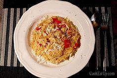 Γιουβέτσι στα γρήγορα, με φιλέτο κοτόπουλου ⋆ Cook Eat Up! Grains, Rice, Cooking, Greek, Food, Kitchen, Essen, Meals, Seeds