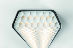 #Vaeder: The perfect light for a relaxed workspace.  With a name derived from the English verb 'evade', it is clear from the start that Vaeder will run a mile from the merely average. Its characteristic honeycomb structure in combination with a wafer-thin diffusor reduces glare to a minimum, whilst Vaeder's groundbreaking LED lighting results in an energy-efficient and high-performing office fixture.  #supermodular
