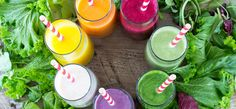 Green smoothies are the new comfort food. They are super healthy for you but they don't have to taste like it. Ice cream flavored vegetables anyone? Here are 15 green smoothies for you to try! Diabetic Smoothies, Detox Smoothie Recipes, Pear Smoothie, Easy Smoothies, Detox Recipes, Fruit Smoothies, Detox Smoothies, Blender Recipes, Full Body Detox