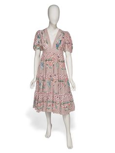 A PRINTED SUMMER DRESS Christie's IN MY FASHION: The Suzy Menkes Collection