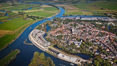 Fortified city at IJssel river, Doesburg, Gelderland, Netherlands, bee4b1c6fe97fbc3dcc0280a2c8a55c7