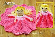 Aurora Princess Lovey FREE Crochet Pattern