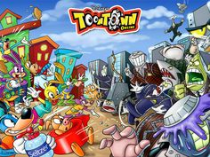 Toontown -- The Gateway MMO I played this soooo much when i was young. Good ol' times. It came back recently under the name Toontown Rewritten.