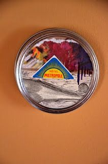 DIY Projects: Re-purpose Ball Jar Lids into Wall Art