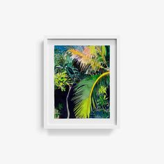 Palms - Original Watercolor Painting by Alexandra Karamallis Watercolor Paintings, Original Paintings, Bachelor Of Fine Arts, Organic Matter, Wall Sculptures, Limited Edition Prints, Gouache, Custom Framing, My Arts