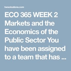 Eco  Week  Current Market Conditions Competitive Analysis Eco