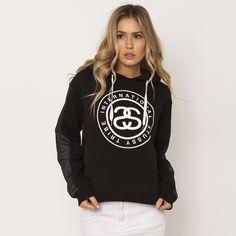 Image for Stussy Fleece Sweatshirt from City Beach Australia