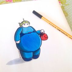 Big Hero Baymax Reimagined As Every Disney Character Is The Cutest Thing Bmax Disney, Punk Disney, Disney Fan Art, Disney Magic, Disney Movies, Disney Characters, Disney Princesses, Disney Doodles, Disney Drawings