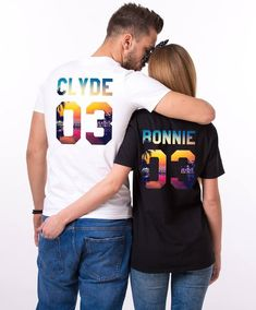 ed8f4c75 Summer Shirts, Couple vacation t-shirts, Summer Couple Shirts, Bonnie Clyde  Vacation