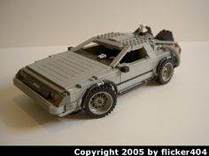 Old BTTF Delorean: A LEGO® creation by Zach Sweigart : MOCpages.com