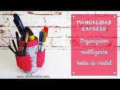 Manualidad express: organizador reutilizando botes
