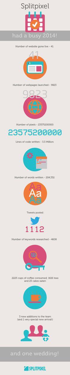 Splitpixel 2014 roundup infographic