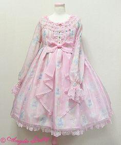 [Angelic Pretty] Milky Cross - OP (Pink)