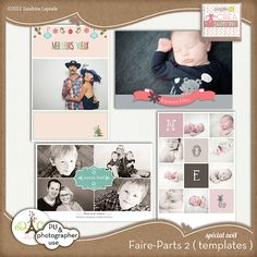 templates for photographers ! cards